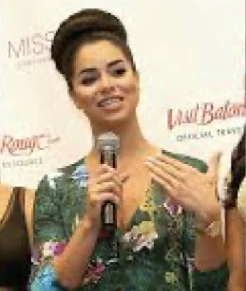 Celebrity Judge on MISS USA 2015 panel