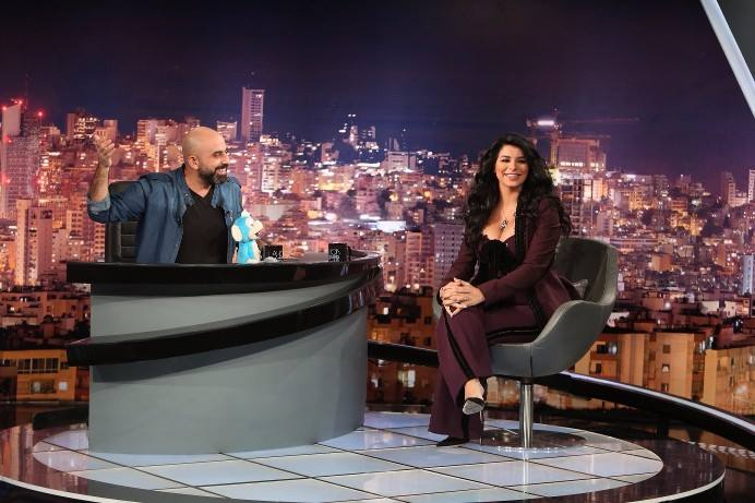 Celebrity Guest on MENA Talkshow 'Lahon W Bas' with Hicham Haddad