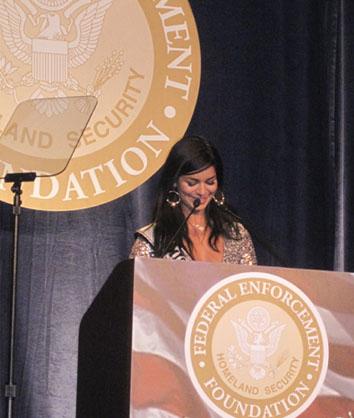 Keynote speaker at the Federal Enforcement Homeland Security Foundation