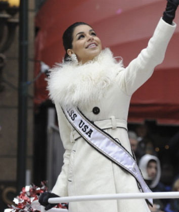 Appeared on her own float at the 84th Annual Macy's Thanksgiving Day Parade