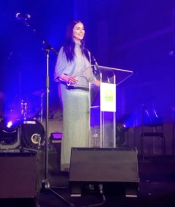 Rima Fakih Slaiby hosts the London CCCL Fundraiser