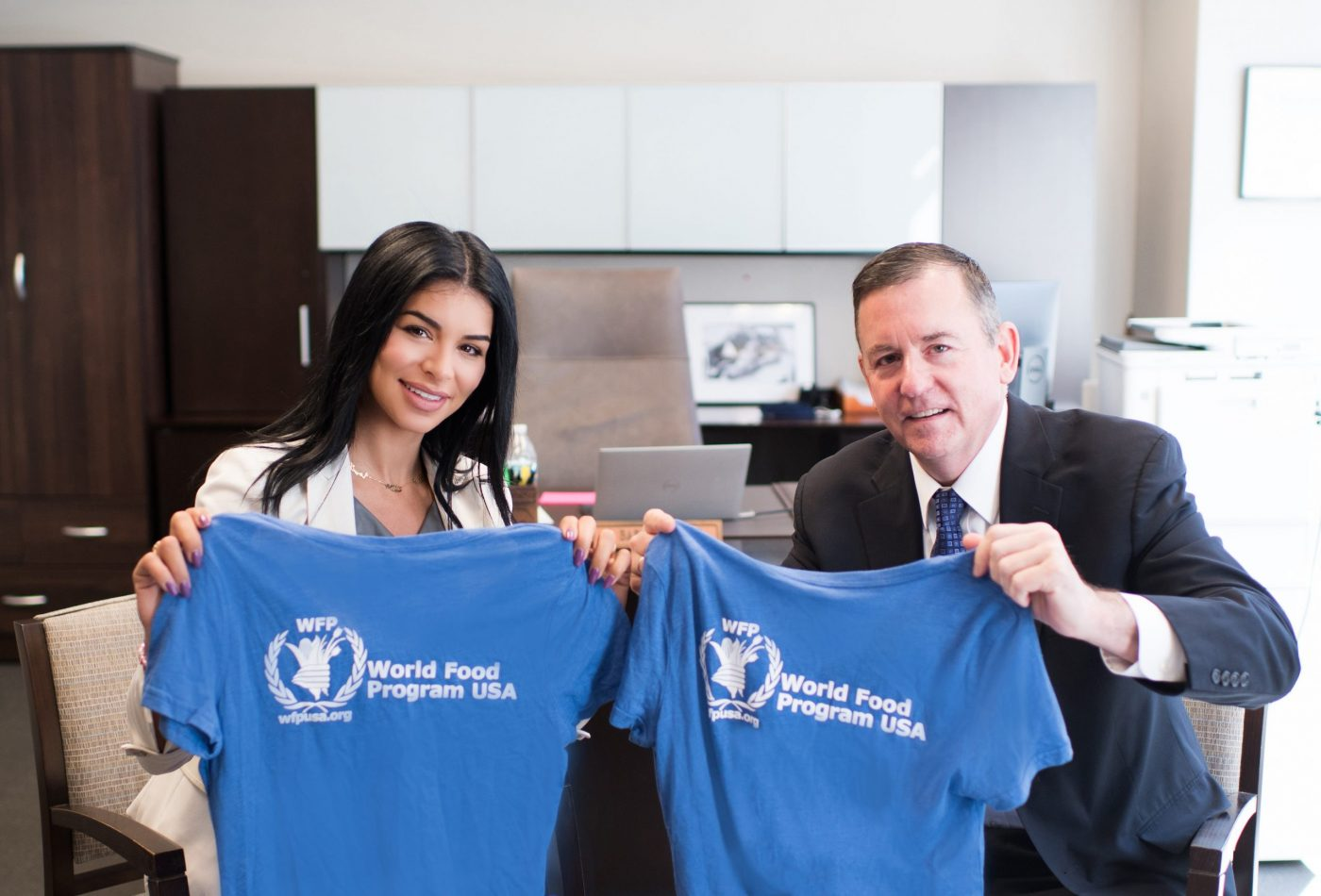 WFP USA's President and CEO Barron Segar Welcomes Rima Fakih